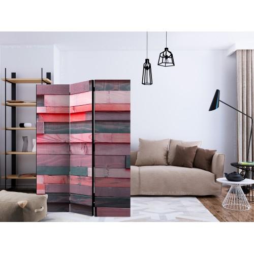 Paravento - Pink Manor [Room Dividers] - Quadri e decorazioni