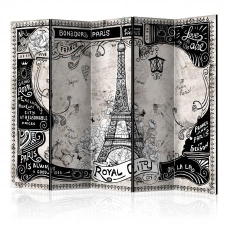 Paravento - Bonjour Paris II [Room Dividers] - Quadri e decorazioni