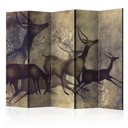 Paravento - Antelopes II [Room Dividers] - Quadri e decorazioni