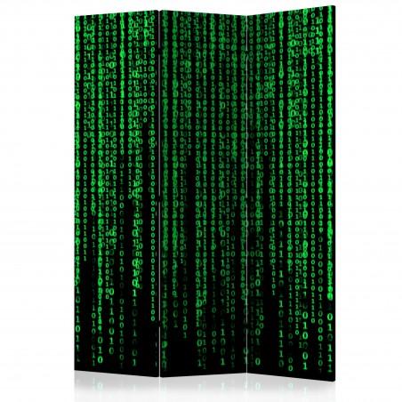 Paravento - Digital Rain [Room Dividers] - Quadri e decorazioni