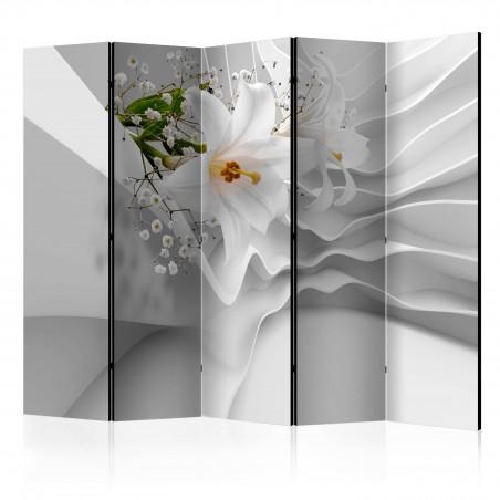 Paravento - Flowers for Modernity II [Room Dividers] - Quadri e decorazioni