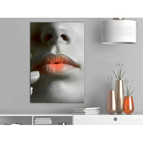 Quadro - Hot Lips (1 Part) Vertical - Quadri e decorazioni