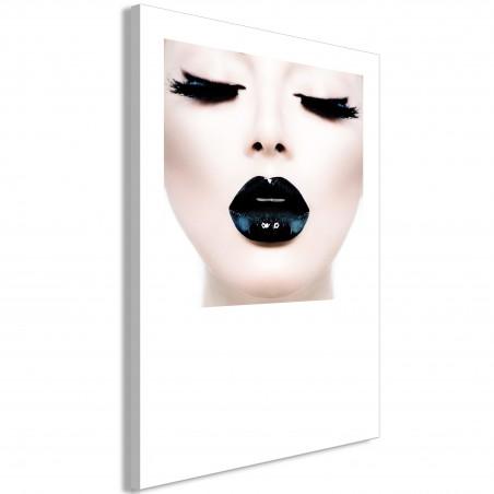 Quadro - Black Lips (1 Part) Vertical - Quadri e decorazioni