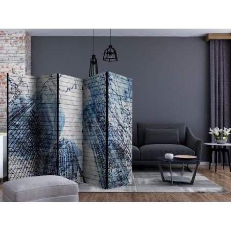 Paravento - Inky New York II [Room Dividers] - Quadri e decorazioni