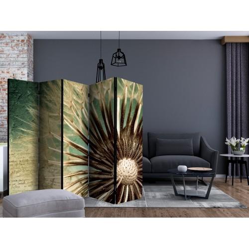 Paravento - Focus on dandelion II [Room Dividers] - Quadri e decorazioni
