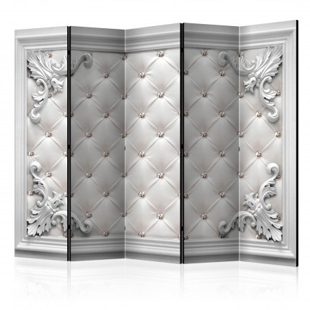 Paravento - Quilted Leather II [Room Dividers] - Quadri e decorazioni