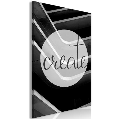 Quadro - Create (1 Part) Vertical - Quadri e decorazioni