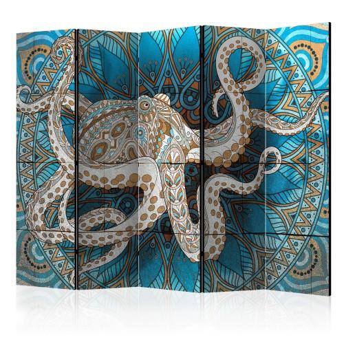 Paravento - Zen Octopus II [Room Dividers] - Quadri e decorazioni