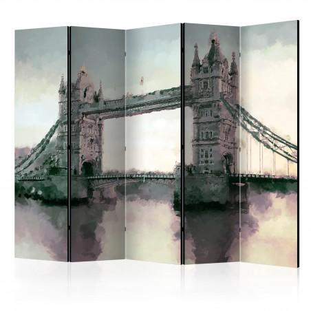 Paravento - Victorian Tower Bridge II [Room Dividers] - Quadri e decorazioni