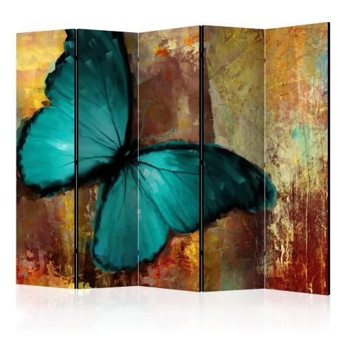 Paravento - Painted butterfly II [Room Dividers] - Quadri e decorazioni