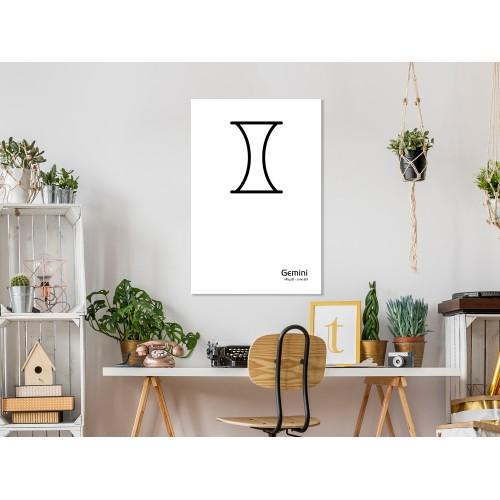 Quadro - Gemini (1 Part) Vertical - Quadri e decorazioni