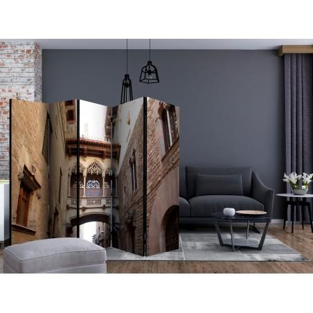 Paravento - Barcelona Palau generalitat in gothic Barrio II [Room Dividers] - Quadri e decorazioni