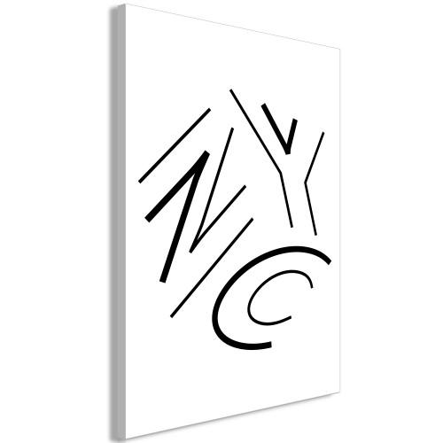 Quadro - NYC (1 Part) Vertical - Quadri e decorazioni