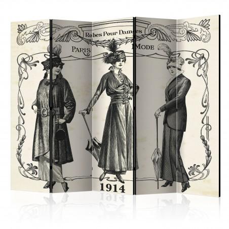 Paravento - Dress 1914 II [Room Dividers] - Quadri e decorazioni