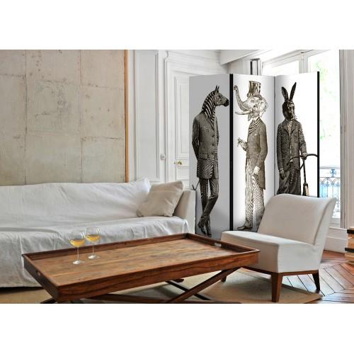 Paravento - Elegant Zoo [Room Dividers] - Quadri e decorazioni
