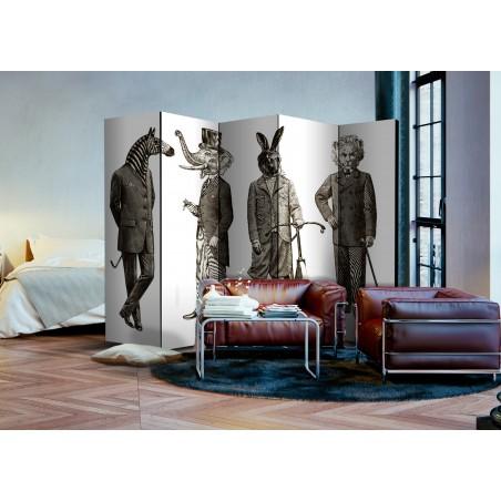 Paravento - Elegant Zoo II [Room Dividers] - Quadri e decorazioni