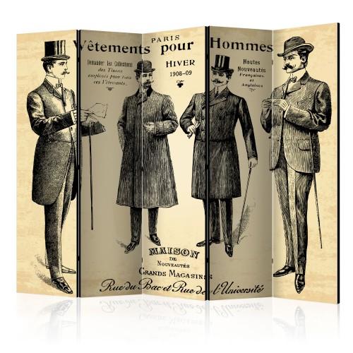 Paravento - Vêtements pour Homme II [Room Dividers] - Quadri e decorazioni