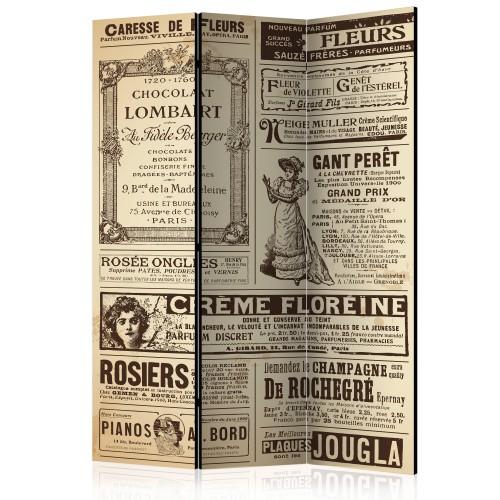 Paravento - Vintage Magazines [Room Dividers] - Quadri e decorazioni