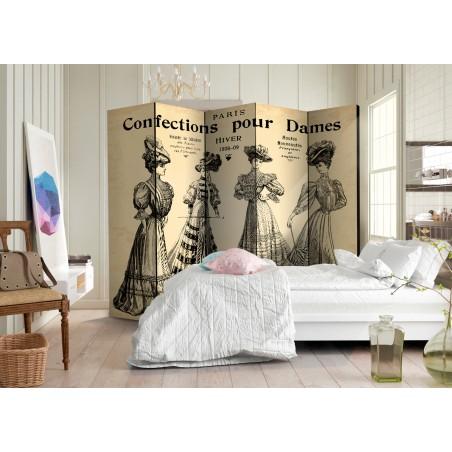 Paravento - Confections pour Dames II [Room Dividers] - Quadri e decorazioni