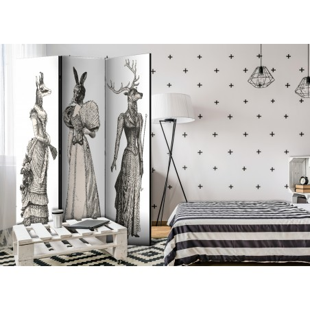 Paravento - Chic Zoo [Room Dividers] - Quadri e decorazioni