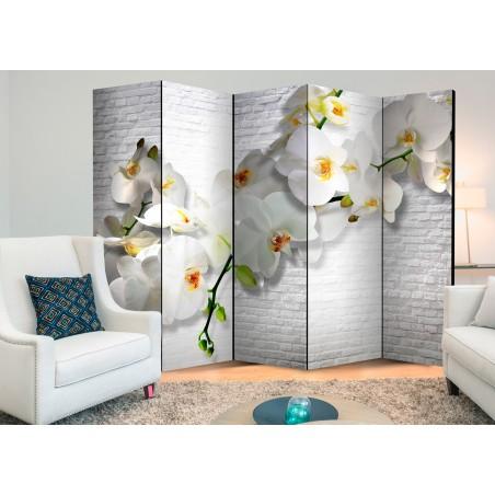 Paravento - The Urban Orchid II [Room Dividers] - Quadri e decorazioni