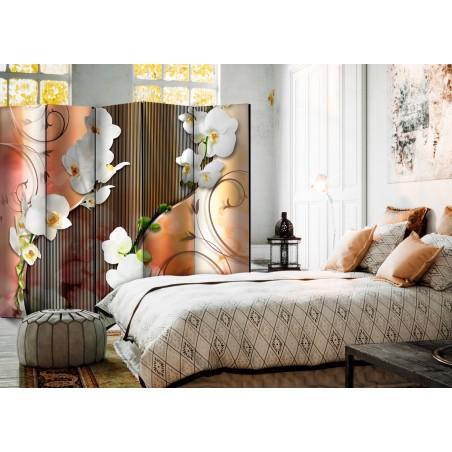 Paravento - Orchid II [Room Dividers] - Quadri e decorazioni