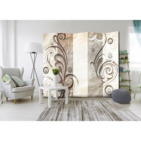 Paravento - Stone Butterfly II [Room Dividers] - Quadri e decorazioni