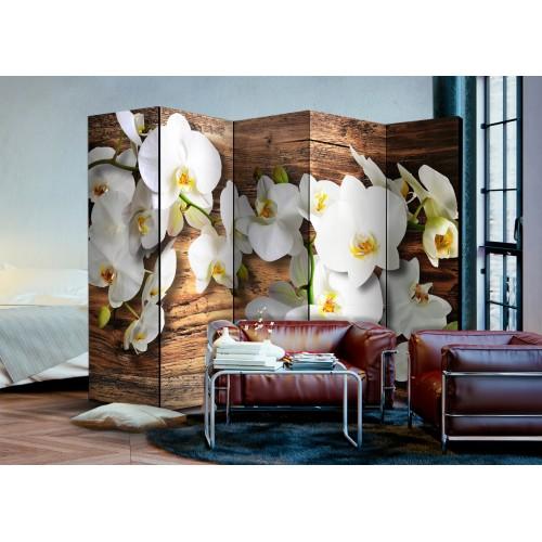 Paravento - Forest Orchid II [Room Dividers] - Quadri e decorazioni
