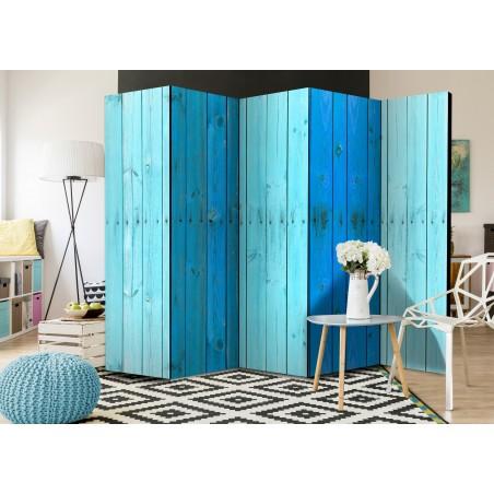 Paravento - The Blue Boards II [Room Dividers] - Quadri e decorazioni