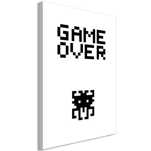 Quadro - Game Over (1 Part) Vertical - Quadri e decorazioni