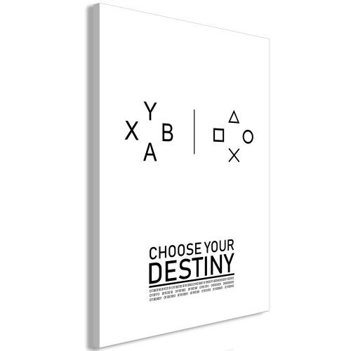 Quadro - Choose Your Destiny (1 Part) Vertical - Quadri e decorazioni