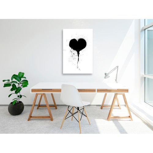Quadro - Destroyed Heart (1 Part) Vertical - Quadri e decorazioni