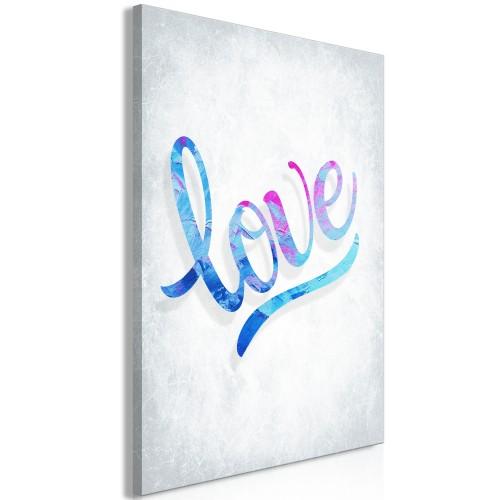 Quadro - Love (1 Part) Vertical - Quadri e decorazioni