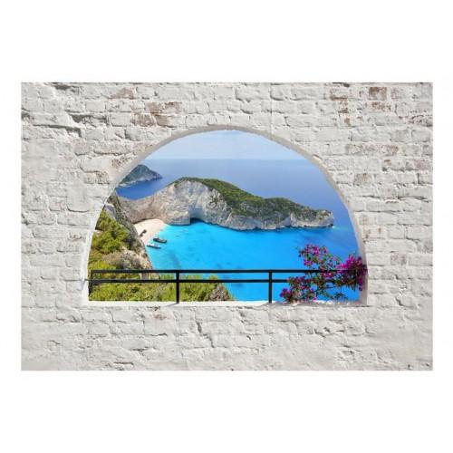 Fotomurale adesivo - Isola...