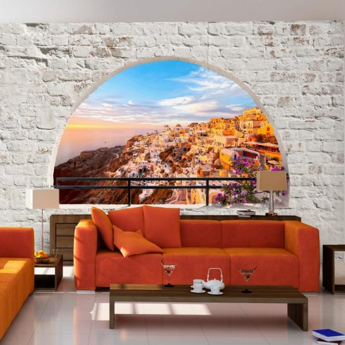 Fotomurale adesivo - Santorini