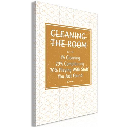Quadro - Cleaning Room (1 Part) Vertical - Quadri e decorazioni