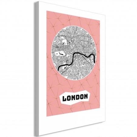 Quadro - Central London (1 Part) Vertical - Quadri e decorazioni