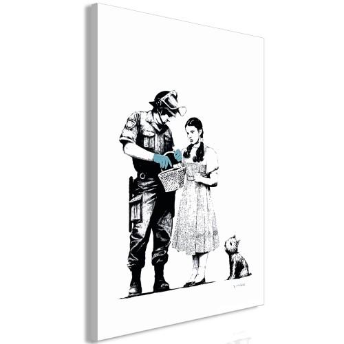Quadro - Dorothy and Policeman (1 Part) Vertical - Quadri e decorazioni