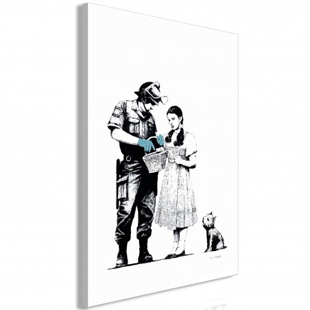Quadro - Dorothy and Policeman (1 Part) Vertical - Quadri e decorazioni