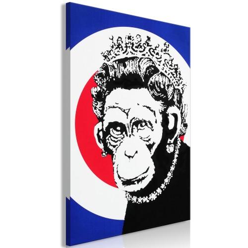 Quadro - Queen of Monkeys (1 Part) Vertical - Quadri e decorazioni