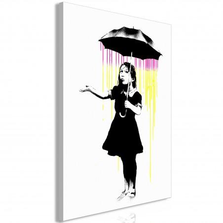 Quadro - Girl with Umbrella (1 Part) Vertical - Quadri e decorazioni