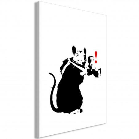 Quadro - Rat Photographer (1 Part) Vertical - Quadri e decorazioni