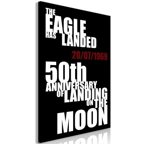 Quadro - Moon Landing (1 Part) Vertical - Quadri e decorazioni