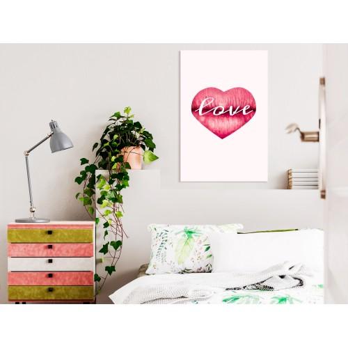 Quadro - Love Lips (1 Part) Vertical - Quadri e decorazioni