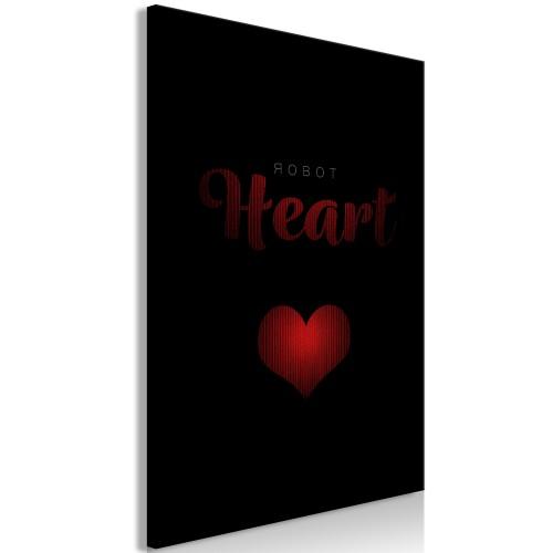 Quadro - Robot Heart (1 Part) Vertical - Quadri e decorazioni