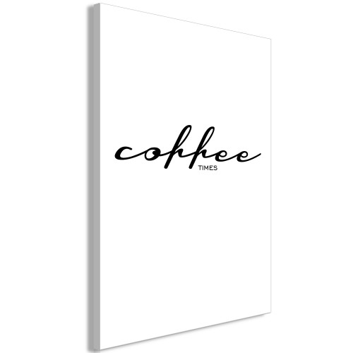 Quadro - Coffee Times (1 Part) Vertical - Quadri e decorazioni