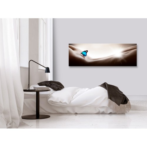Quadro - Woman and Butterfly (1 Part) Narrow - Quadri e decorazioni