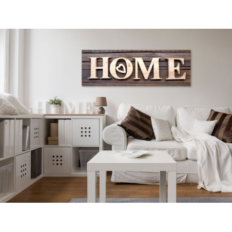 Quadro - Wooden Home (1 Part) Narrow - Quadri e decorazioni