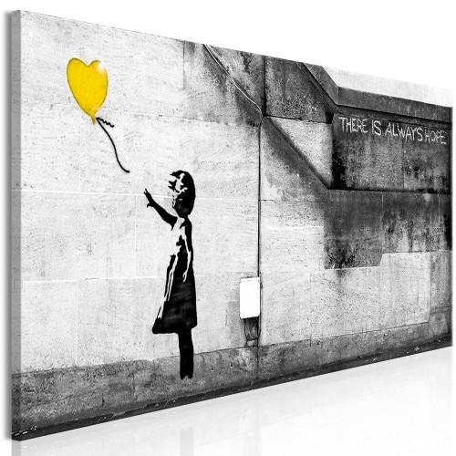 Quadro - There is Always Hope (1 Part) Narrow Yellow - Quadri e decorazioni