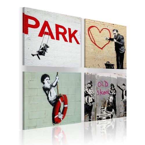 Quadro - Banksy: ispirazioni urbane - Quadri e decorazioni